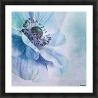 Shades of Blue by Priska Wettstein  Picture Frame print