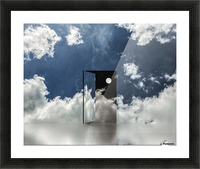 Event Horizon Picture Frame print