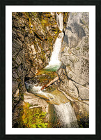 Cascading Falls Picture Frame print