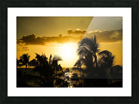 Radiant Hawaii Picture Frame print