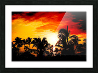 Fire in the Heavens Picture Frame print
