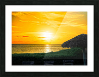 Away Picture Frame print