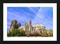Notre Dame Paris Picture Frame print