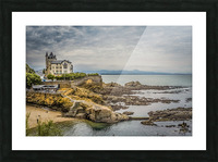 Biarritz Picture Frame print