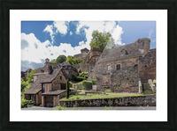 Castelnau Bretenoux Picture Frame print