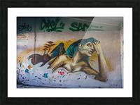 Art Graffiti Picture Frame print