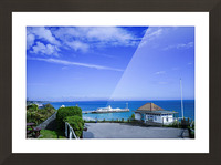English Seaside Bournemouth Picture Frame print
