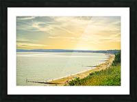 Coastal England Picture Frame print