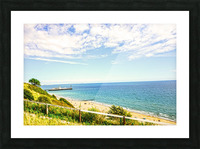 The Southern Coast of England Picture Frame print