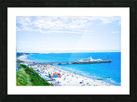Snaphot in Time Bournemouth Picture Frame print