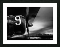 Number 9 Consolidated B24 Picture Frame print
