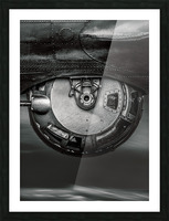 Ball Turret Picture Frame print