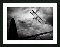 Air Pursuit  Picture Frame print