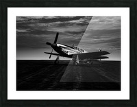 North American TP 51c Picture Frame print
