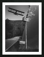 Air Mail Delivery Picture Frame print