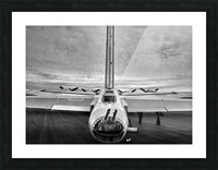 B17 Flying Fortress Picture Frame print