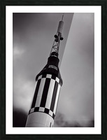 Mercury Seven Picture Frame print