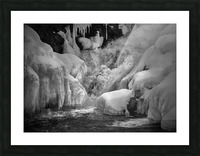 Early Spring Great Falls Picture Frame print