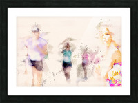 Day At The Race Picture Frame print