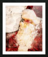 Santa Claus Christmas Picture Frame print