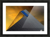 Golden Glow by Gilbert Claes  Picture Frame print