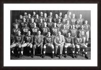 1954 University of Michigan Football Team Photo Picture Frame print