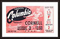1945 Columbia vs. Cornell Picture Frame print