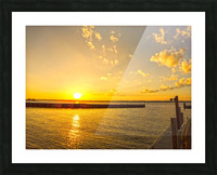 Low Country Sunset South Carolina Picture Frame print