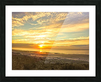Sunrise in the Carolinas Picture Frame print