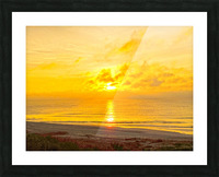 Sunrise over the Atlantic Picture Frame print