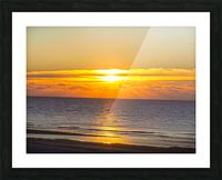Blue Morning Sunrise Picture Frame print