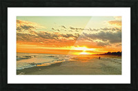 The Carolina Sunset Picture Frame print