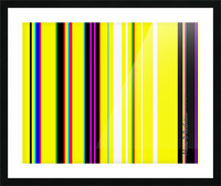 Color Bars 2 Picture Frame print