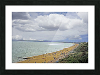 At the Beach in Southern England Picture Frame print