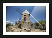 Moulin Collioure  Picture Frame print