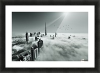 Up up and Above Picture Frame print