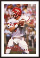 1983 Maryland Football Boomer Esiason Picture Frame print