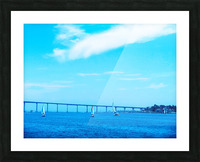The Bay @ San Diego Picture Frame print