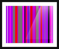 Color Bars 4 Picture Frame print