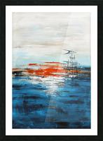 High tide IV Picture Frame print