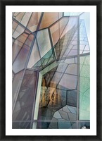 Colour Mosaic Picture Frame print