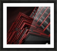 Blood Stream Picture Frame print