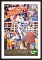 1983 Boise State Broncos Carl Keever Football Poster Picture Frame print
