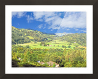 Beautiful Wales Picture Frame print