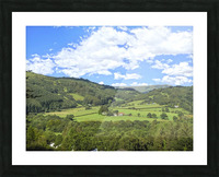 Wonderful Wales Picture Frame print
