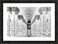 Sheik Zayed Mosque Picture Frame print