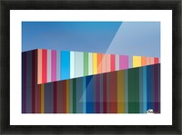 Urban candy Picture Frame print