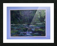 A swamp Concert  Acryl on Canvas 80x60  FRAMED  Picture Frame print