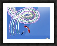 Spiro Picture Frame print