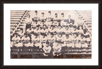 1959 Los Angeles Dodgers Team Photo Picture Frame print